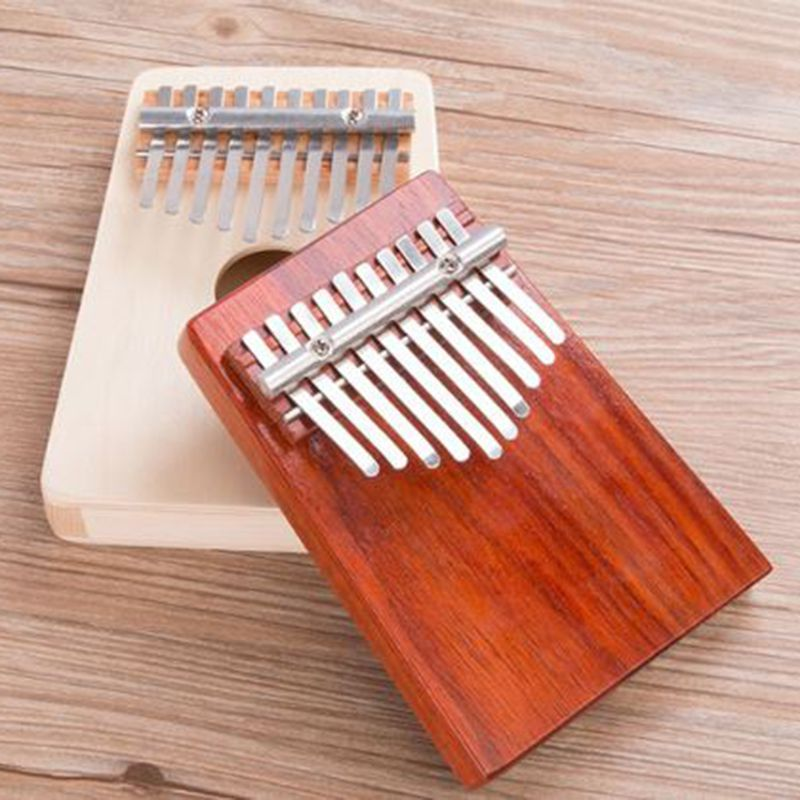 Thumb piano portable beginner instrument Thumb piano 10 tone kalimba 10 fingers finger piano wear-resistant piano lounge mp3