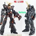 ДАБАН аниме фигурки Gundam RX-0 Единорог Gundam MG 1/100 MC 02 Banshee робот действие фигура модели игрушки Совместимость Bandai