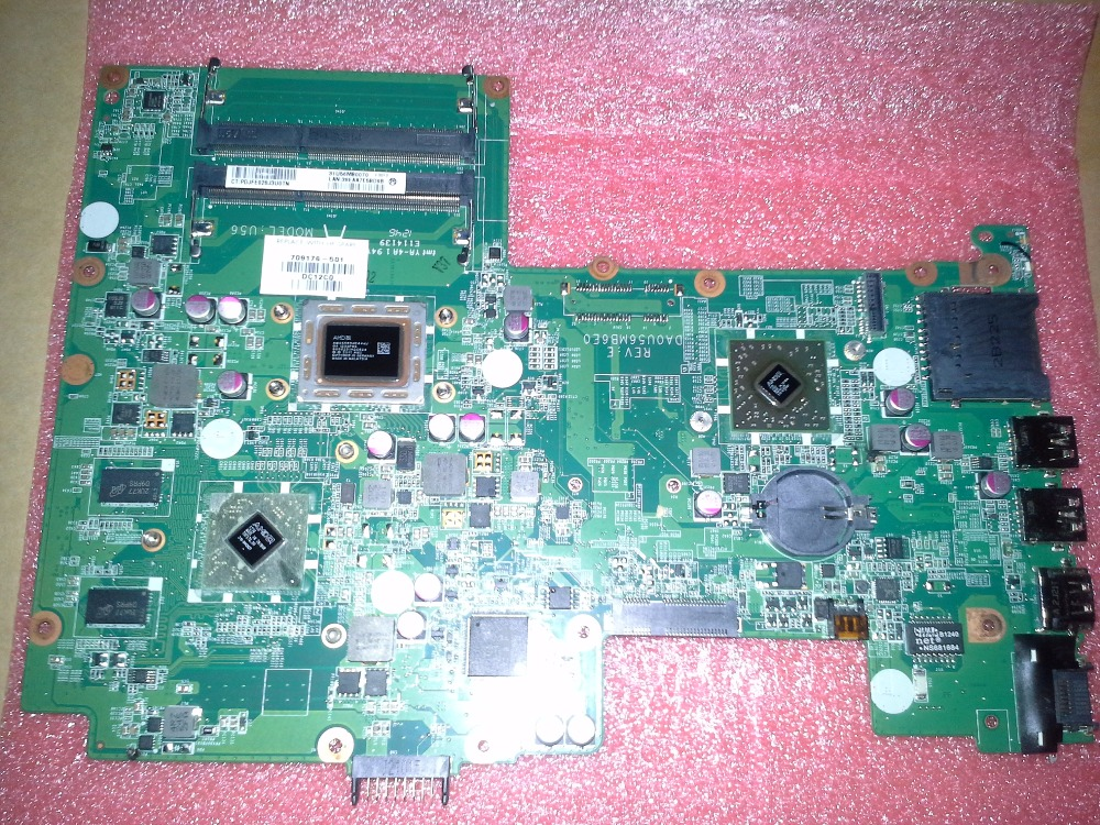 709176-001 For HP Pavilion Sleekbook 15 laptop motherboard 709176-501 cpu A8-4555M 100% Tested 60 days warranty
