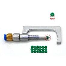 Universal diesel común inyector para riel abrazadera de combustible inyector herramienta de reparación de 4mm anillo de sellado para colector de aceite y abrazadera