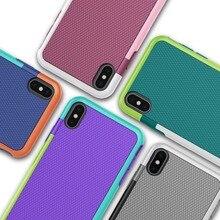 Противоударный силиконовый чехол для funda iPhone Xs Max 10 XR 6s 7 8 Plus 7Plus 8 Plus Xs Противоскользящий чехол для iPhone 11 Pro 11Pro чехол