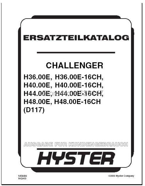 hyster forklift repair manual pdf