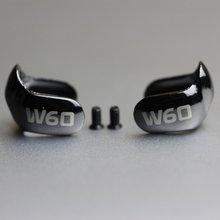 OKCSC placas Frontales intercambiables de Metal, para W30 W40 W50 W60, controlador Dual, auricular con tornillo de Metal
