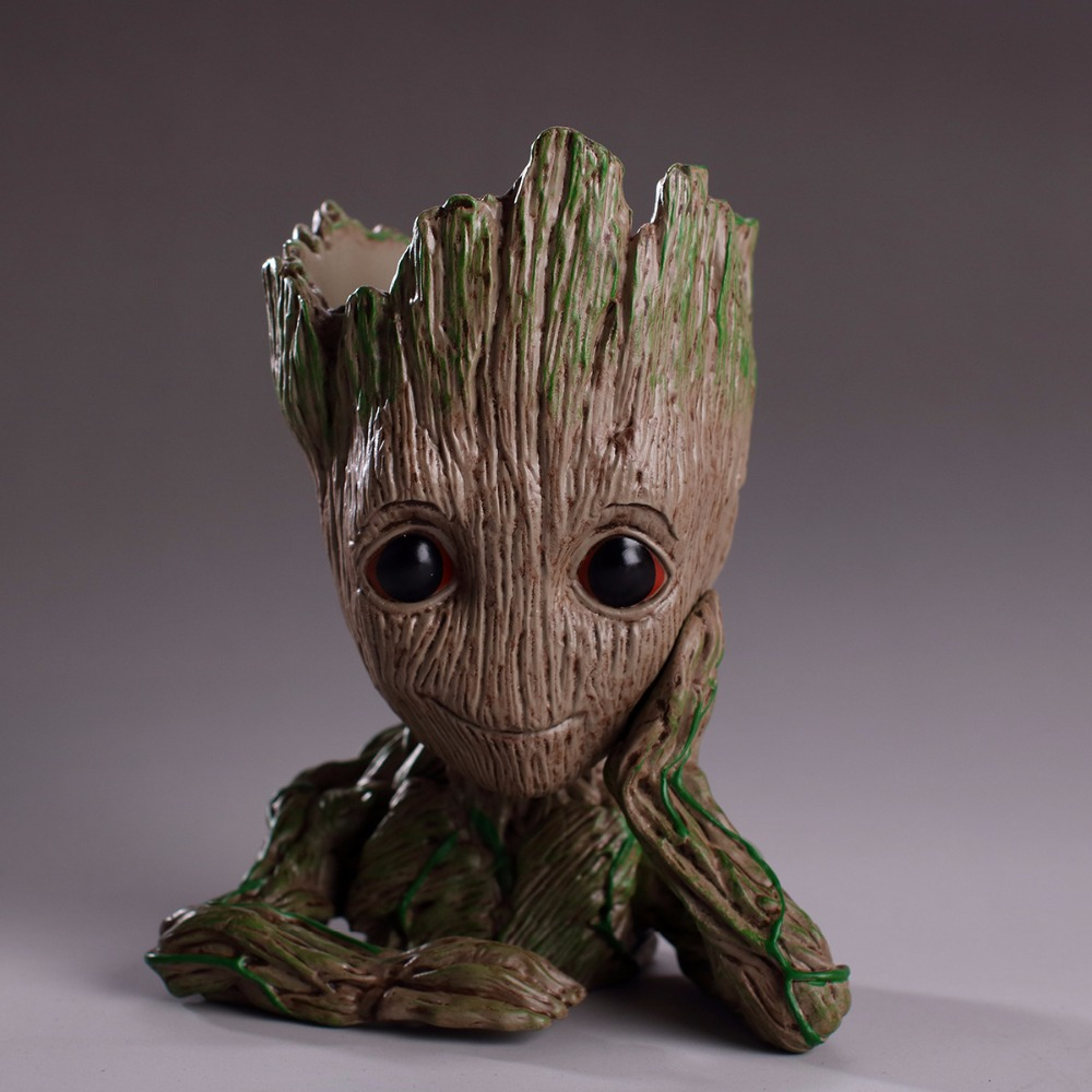 Guardians of The Galaxy STAR Baby Grow Group Superhero Justice League Action Figure PVC Dolls Tree Man Model Hero Decoration cartoon fight hero star model desktop decoration gift