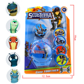 Slugterra Flying Saucer Launcher Shooter Toy Slugterra Action Figures Brinquedo Juguete Birthday Gift for Kids Children