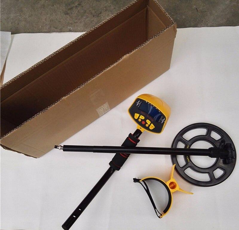 MD-3010II LCD Back Light Display Underground Metal Detector Treasure Hunter Hobby Upgraded Metal Detectors MD3010II big promotion md 1005 ground searching metal detector for kids hobby