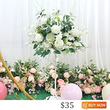 JAROWN-New-Wedding-Ceterpiece-Flower-Artificial-40cm-Flower-Ball-Table-Decoration-Home-Party-Floral-Stage-Arrangement