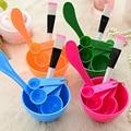 1Set Face Mask DIY Make Up Tool Bowl Brush Spoon Stick Tool Set Face Care Concealer Cosmetics Beauty Brush Pinceis Maquiagem