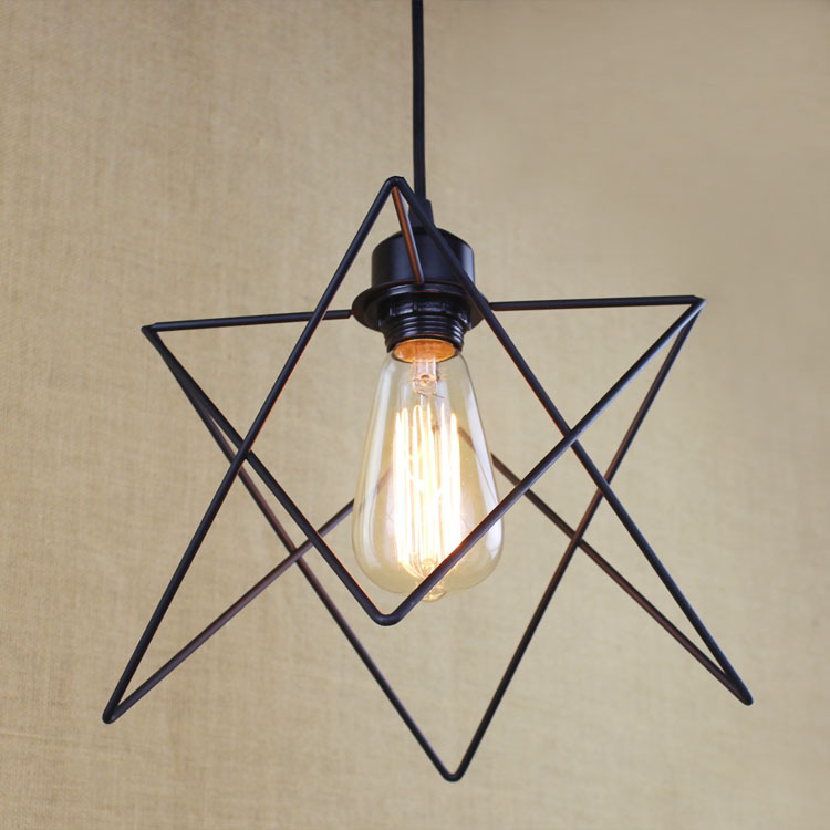 Loft Vintage Industrial Retro Pendant Lamp Edison Light E27 Holder Iron Restaurant Bar Counter Brief Hanging Lamp WPL098 loft edison vintage retro cystal glass black iron light ceiling lamp cafe dining bar hotel club coffe shop store restaurant