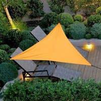 Sunshade Canopy Sun Shade Sail UV Block Sun Shade Sail for Patio Outdoor Garden Patio Top Cover