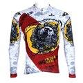ILPALADINO Herbst Mens Radfahren Lange Hülse Frühling Mens Voll Zipper Radfahren Kleidung Trikots Männlichen Atmungs Radfahren Kleidung