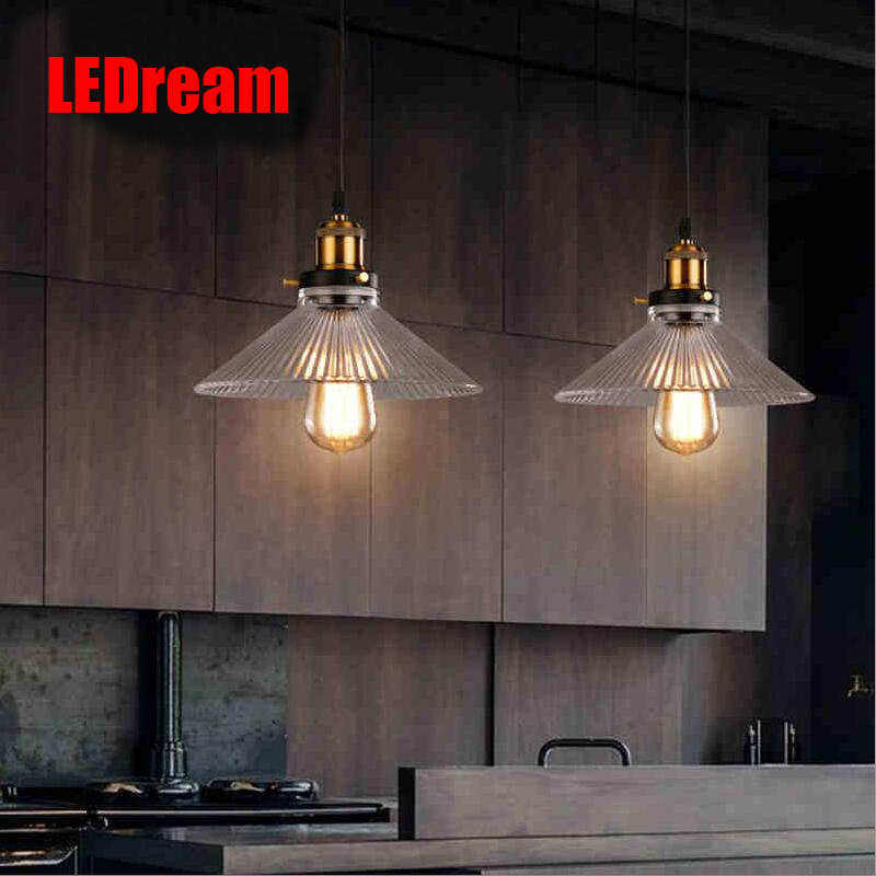 Loft rural pendant creative industry of lamps and lanterns wind restoring  restaurant bar counter DIY single head droplight creative personality electroplating apple glass lamps and lanterns of restaurant contemporary single head bar led lamps