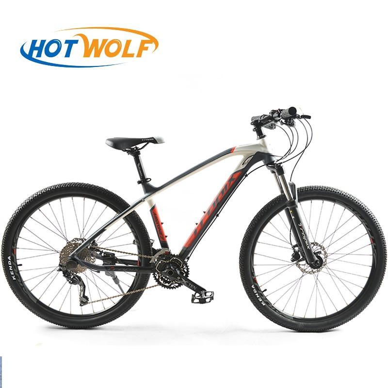 Alta calidad 27,5 pulgadas bicicletas acero 30 velocidad marco de aluminio bicicleta de montaña patín Pedal frenos de disco hidráulico bicicleta TROPIX