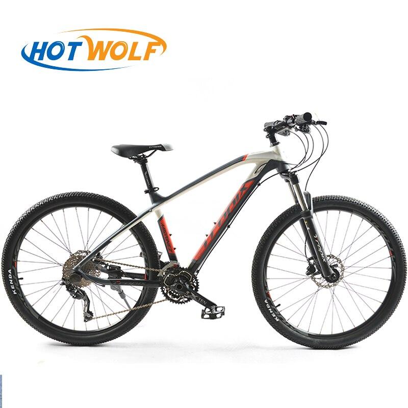 Di alta Qualità 27.5 pollici biciclette In Acciaio 30 velocità telaio In Alluminio mountain bike skid Pedale Idraulico freni a disco bicicletta TROPIX