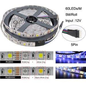 Image 2 - 5050 RGBW/WW LED Strip Light WIFI Controller Neon Lamp 20M Stripes Decor Flexible Tape tira fita Diode Ribbon DC 12V Adapter Set