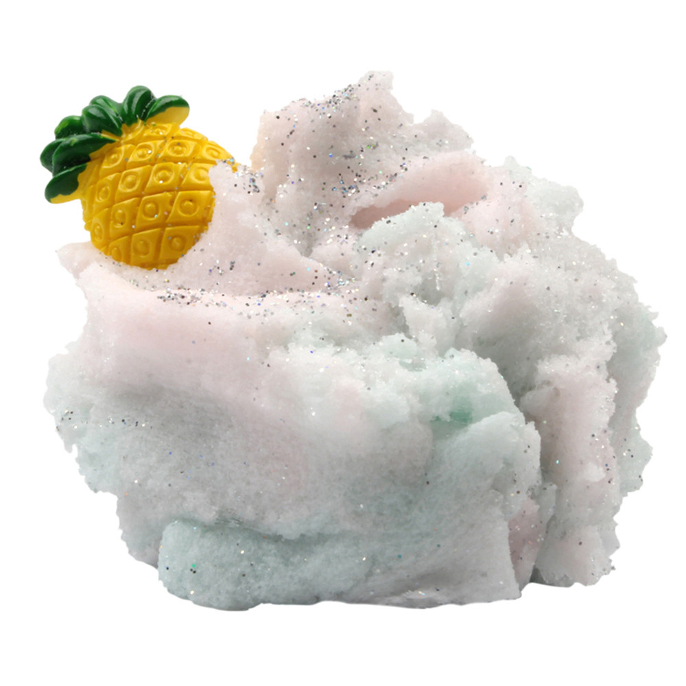 Special Section 50g Colorful Strawberry Mixing Cloud Cotton Candy Slime Scented Stress Kids Clay Toy 3.19:50g Long Performance Life Gags & Practical Jokes