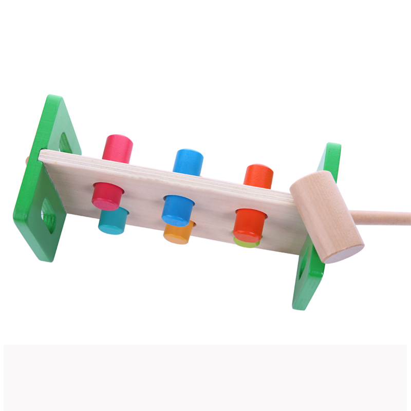 Baby-toys-Wooden-Knocks-pillar-Platform-wood-toys-Hammering-Children-Early-Learning-Educational-Toys-Brand-free-shipping-2