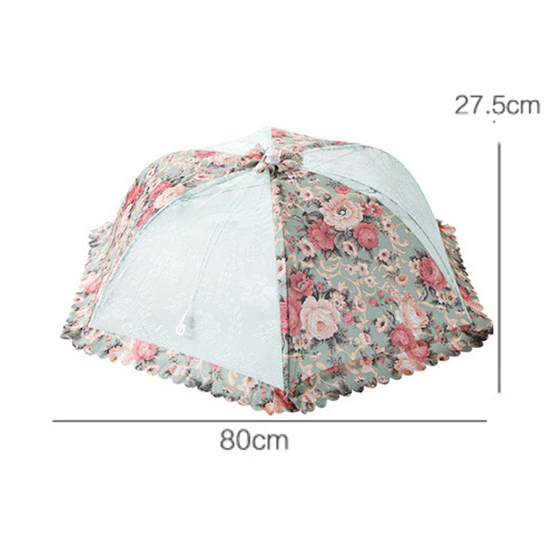 Image 4 - Kitchen Food Umbrella Cover Kitchen Aid Picnic Barbecue Party Fly Mosquito Mesh Net Tent housse table de jardin protection table-in All-Purpose Covers from Home & Garden
