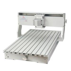 Image 3 - 80mm ציר מנוע מהדק התאסף CNC 6040 מסגרת עם סיבובי עבור נגרות נתב מכונת אלומיניום מתכת חרט