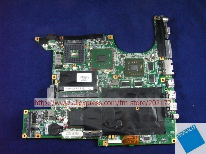 434659-001 Motherboard for HP Pavilion dv9000 Series W/nvidia  Upgrade R Version geforce 7600T original 615279 001 pavilion dv6 dv6 3000 laptop notebook pc motherboard systemboard for hp compaq 100% tested working perfect