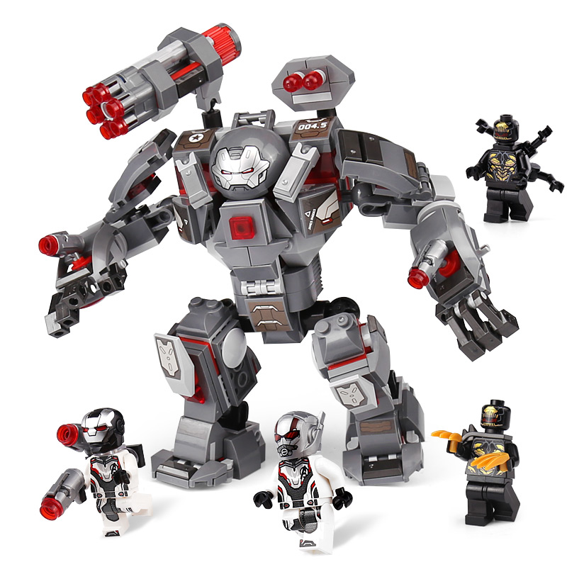New 07119 07120 07121 07122 07123 Super Heroes Endgame The Outriders Attack War Machine