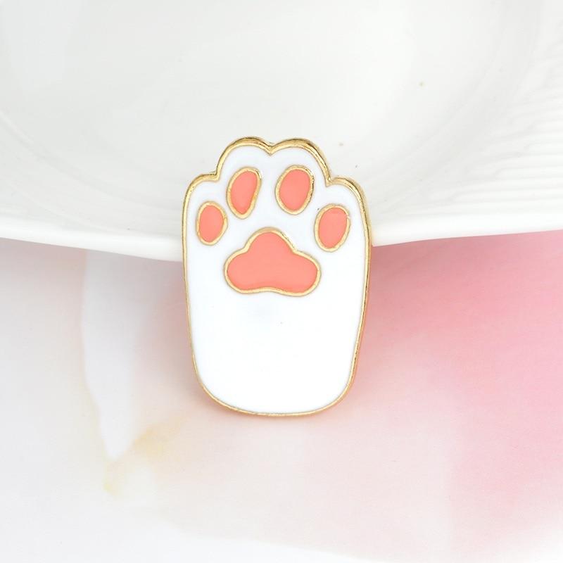 paw print-white
