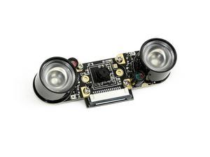 Image 1 - Caméra IMX219 77IR Waveshare, 8 mégapixels, Vision nocturne infrarouge, FOV de 77 degrés, Applicable pour Jetson Nano