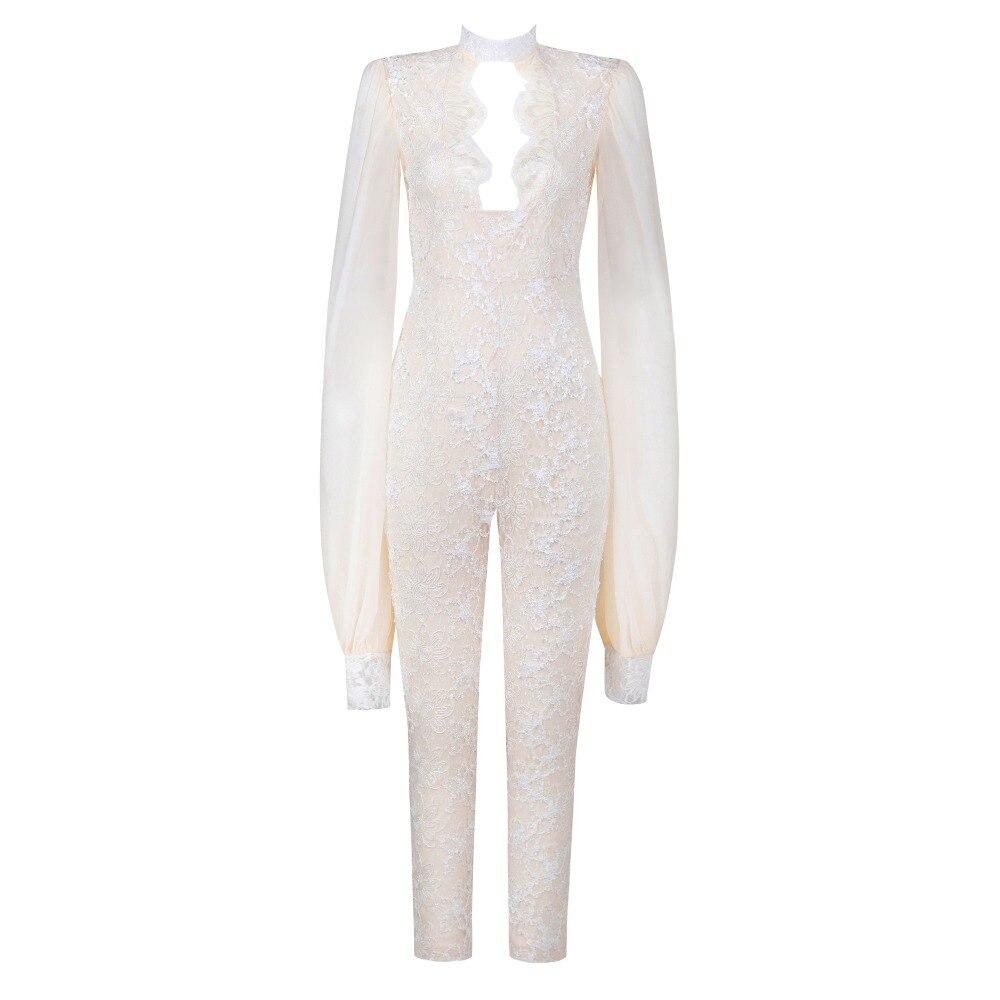 Party Automne Soie cou De 2018 Élégante Femmes Salopette V Sexy Imprimée Halinfer Celebrity X Nouveau manches Longues Robes Mousseline 1wFqpfpZ