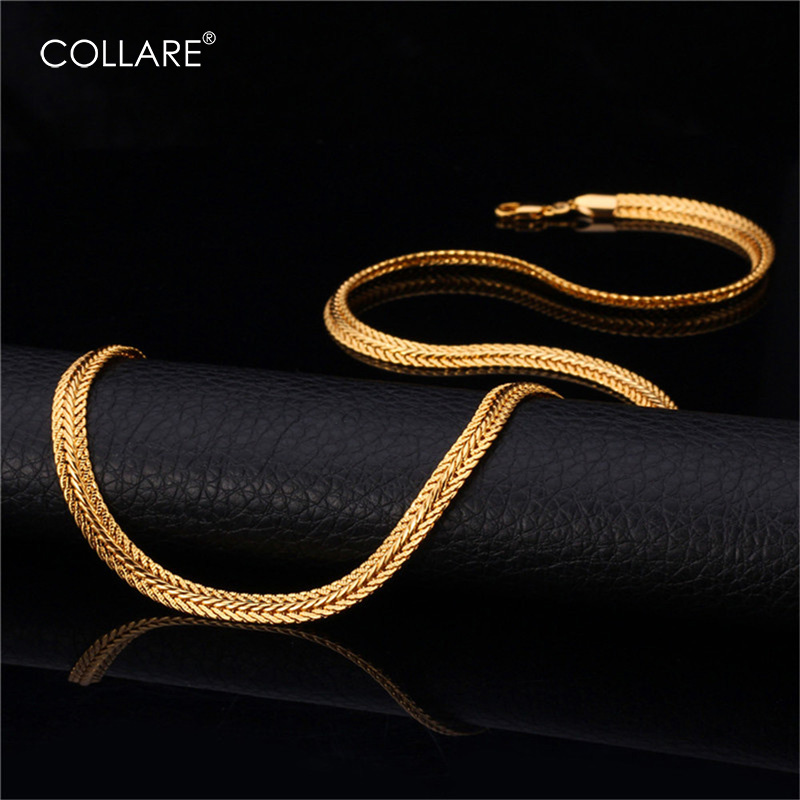 Collare Rope Link Chain For Men Necklaces