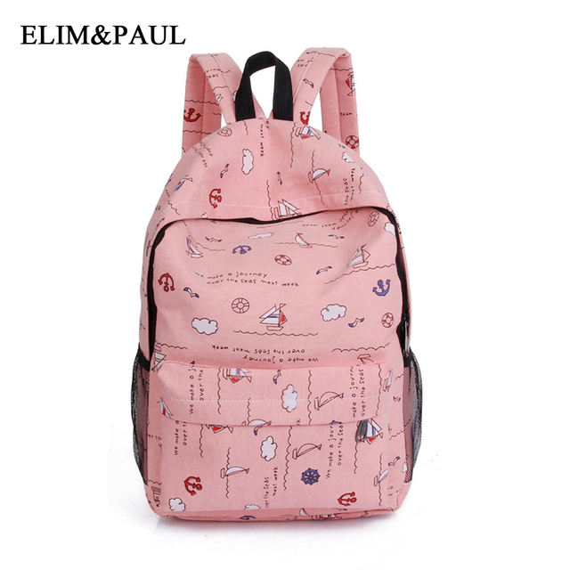 6d29622dda69 fashion personality large backpack young girl small floral cute ...