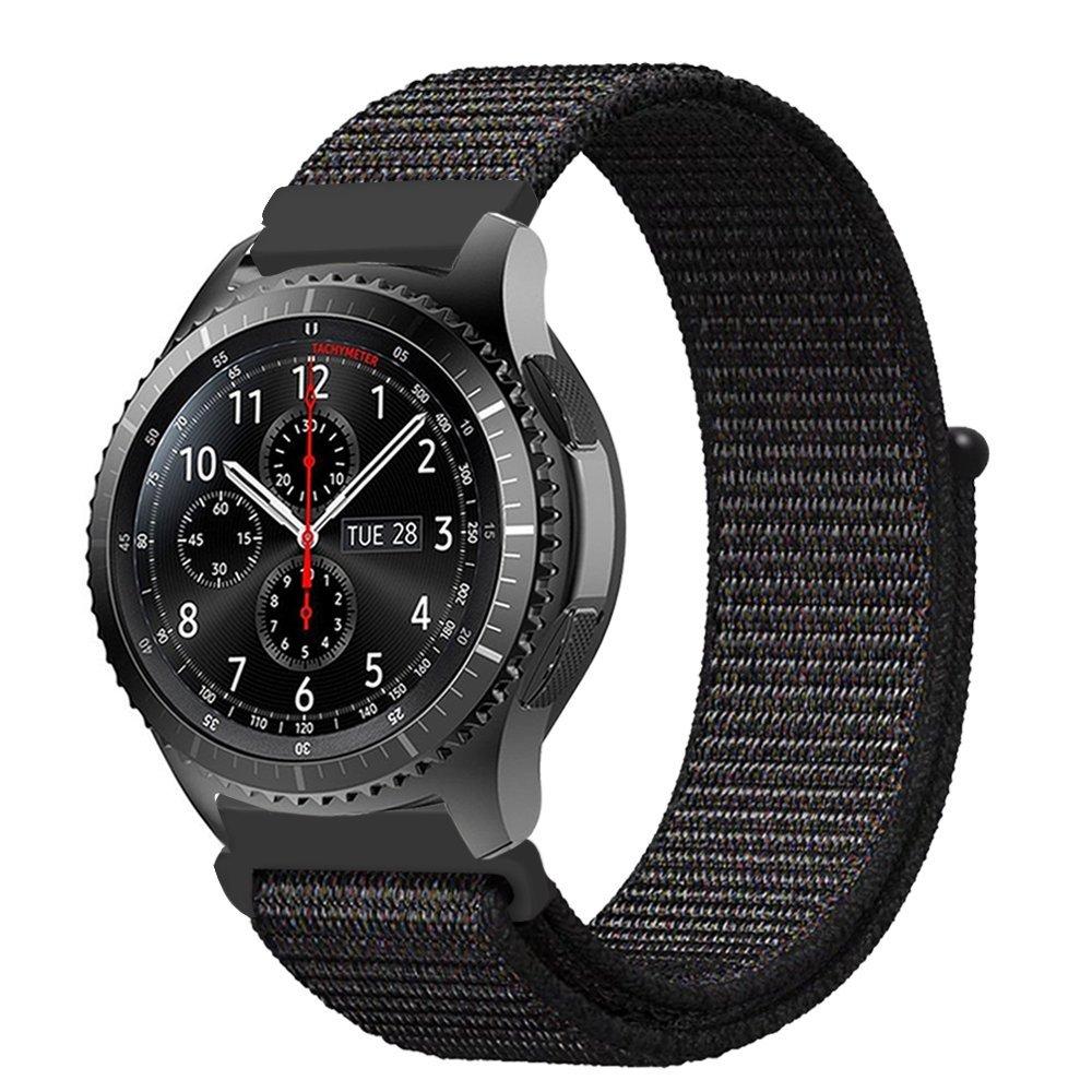 цена на Sports nylon strap for Samsung Galaxy Gear S3 / S2 / Gear sports strap for Huami Amazfit Bip / Amazfit 2 20mm 22mm smart strap