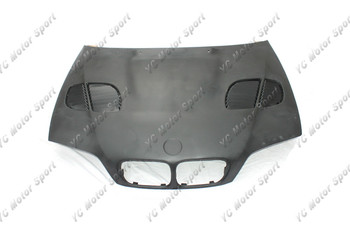 Car Accessories FRP Fiber Glass GTR-Style Hoods Fit For 1998-2001 E46 2D Hood Bonnet Car-styling