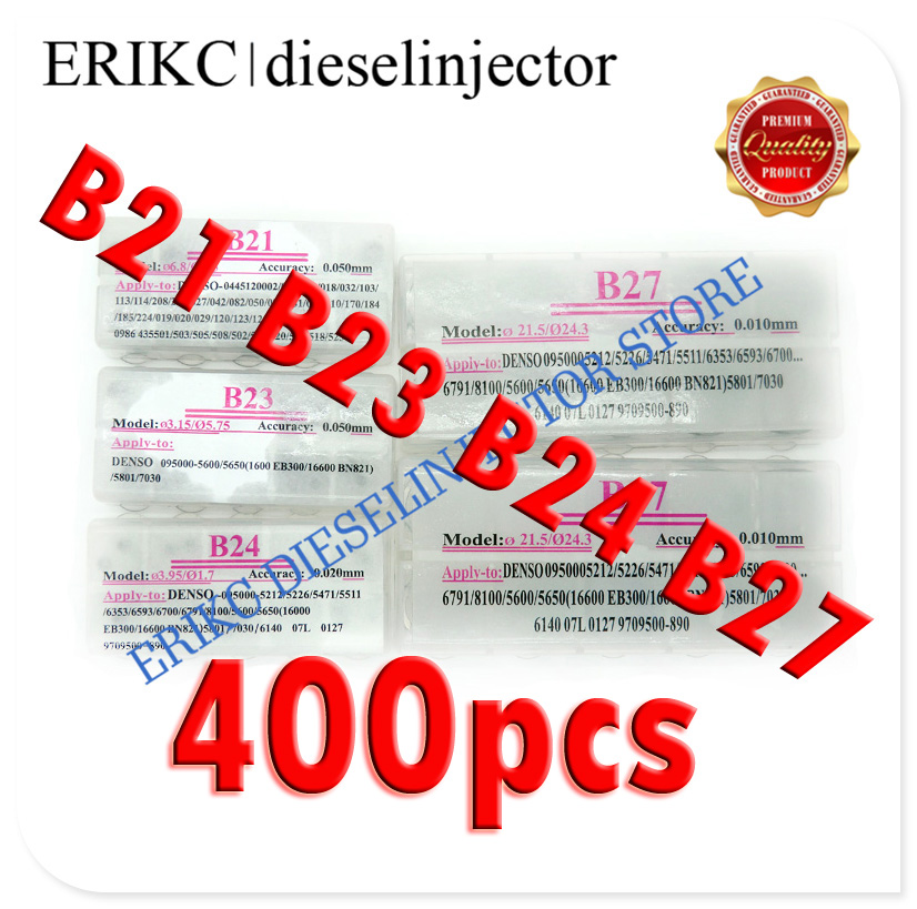 ERIKC injector shim set washers shim kits for fuel injector assembly 400 pcs