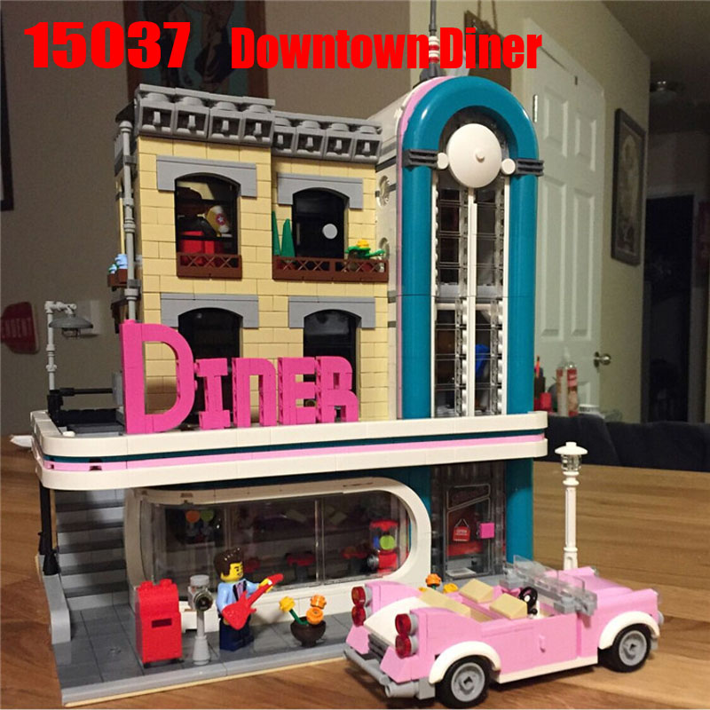 Legoinglys Creator Expert 2778PCS Diner Sets Building Blocks Bricks Kits Educational Toys For Boys Girls Gifts