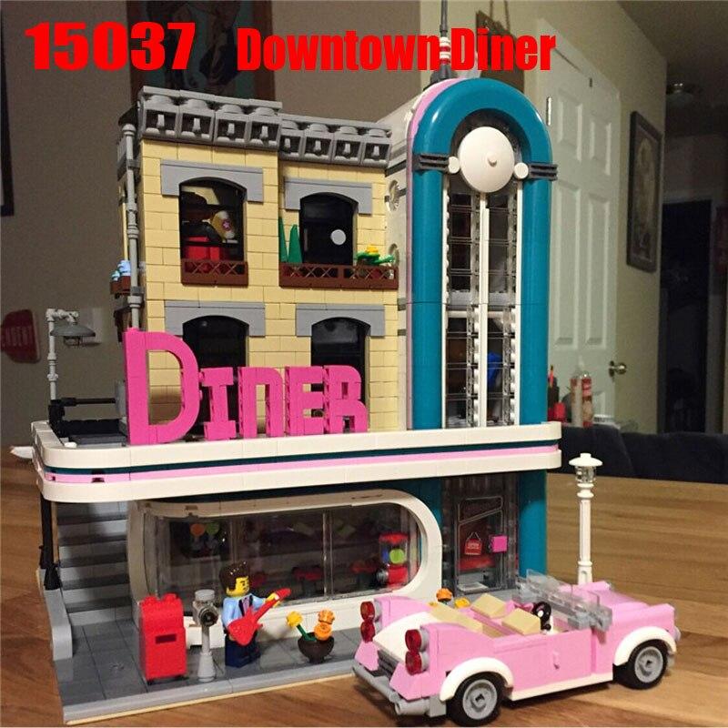 Lepin Legoinglys Créateur Expert 2778 pièces Salle À Manger Ensembles de blocs de construction Briques Kits jouets éducatifs Pour Les Garçons Filles Cadeaux