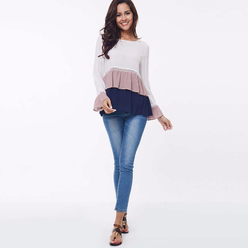 fall Pleated t shirt 4