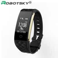 Women's Men's S2 Smart Watch Herat Rate Monitor For Android 4.3 iOS 7.0 Pedometer IP67 Waterproof Smartwatch