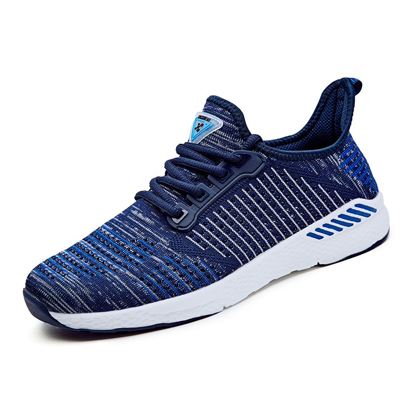 Big size 36-48 Men and Women Sneakers Outdoor Air Mesh Running Shoes Breathable Comfortable Athletic Ultra Light Sports Shoes