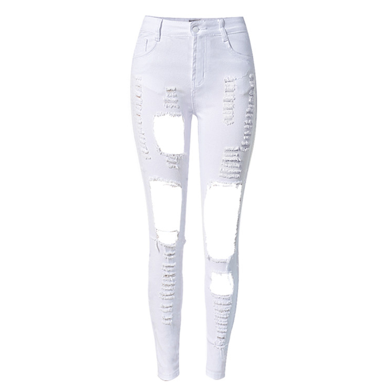 2016 Brand Clothing Teenager Girl Summer Style Pencil Pants Jeans Fashion Women American Style High Quality Jeans Women S1549