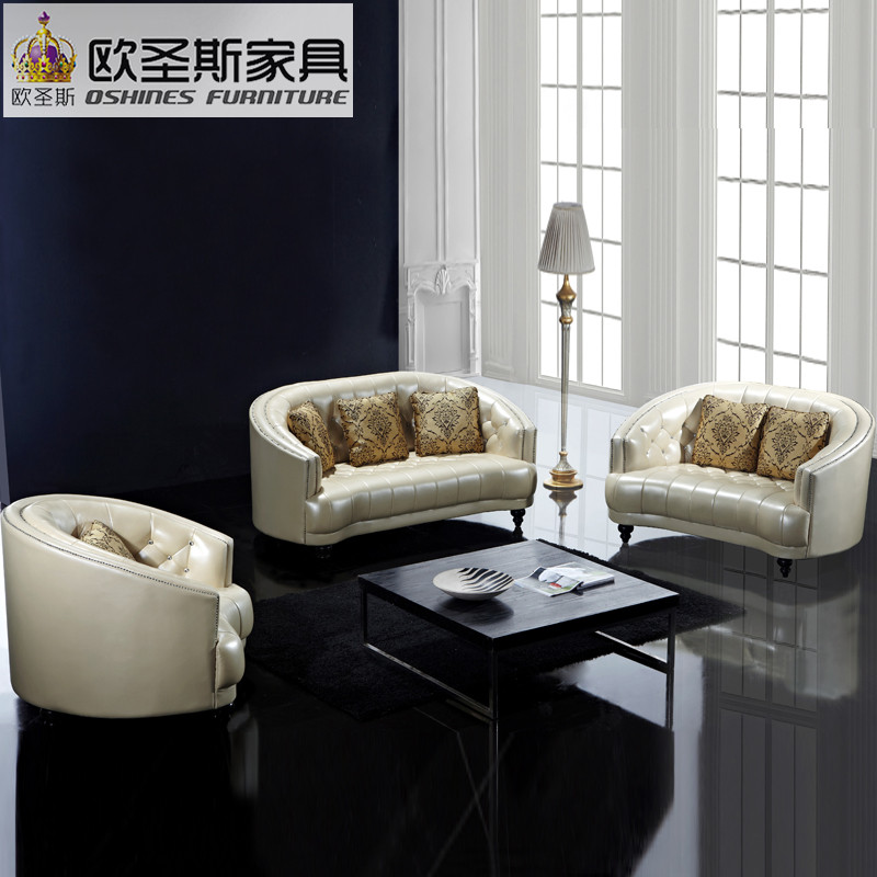 Victorian Victorian Style Leather Sofa Japanese Style