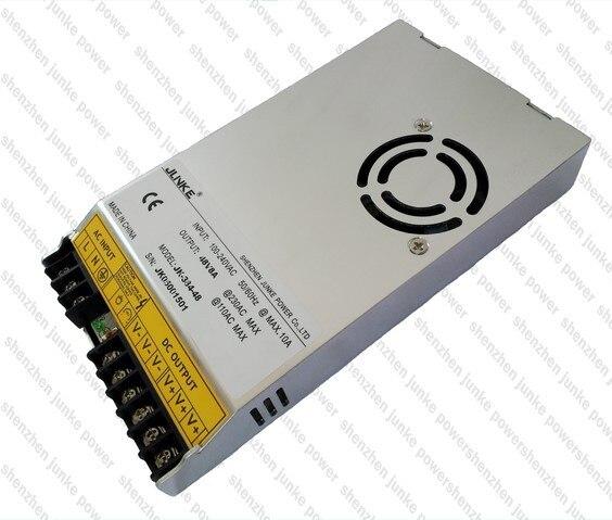 384W 8A Switching LED Power Supply Adapter 48V , Electronic LED Transformer AC 110/220V to 48V