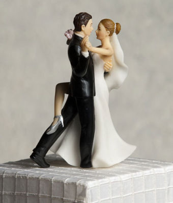 Sexy wedding cake topper