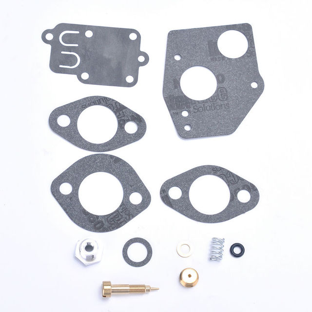 For Briggs Stratton 495606 494624 Carburetor Rebuild Repair Overhaul Kit Fit 3 5hp Horizontal