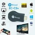 Wecast Miracast Hdmi TV Transmissão Dongle Usb Wifi Visor do Receptor Sem Fio tão bom como Chromecast Vara