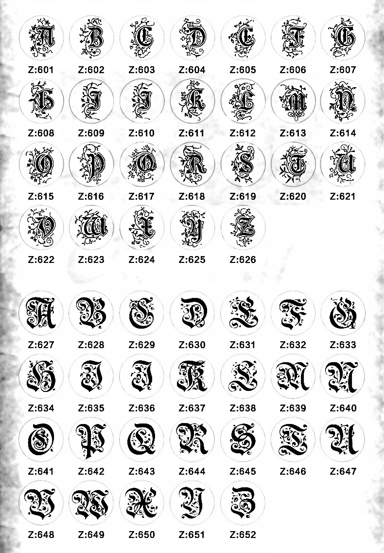 Letter stamp 1-14