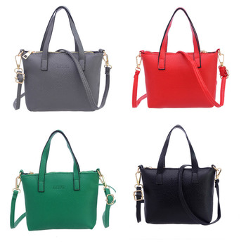 Women Fashion  female bags quality pu leather soft face women bag wild shoulder messenger bag  crossbody bags