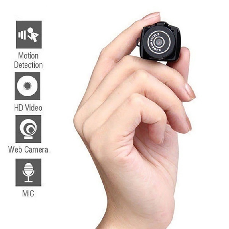 Mini Wireless Camera 720P Video Audio Recorder Y2000 Camcorder Small DV DVR Security Secret Nanny Car Sport Micro Cam mini dv md80 dvr video camera 720p hd dvr sport outdoors with an audio support and clip
