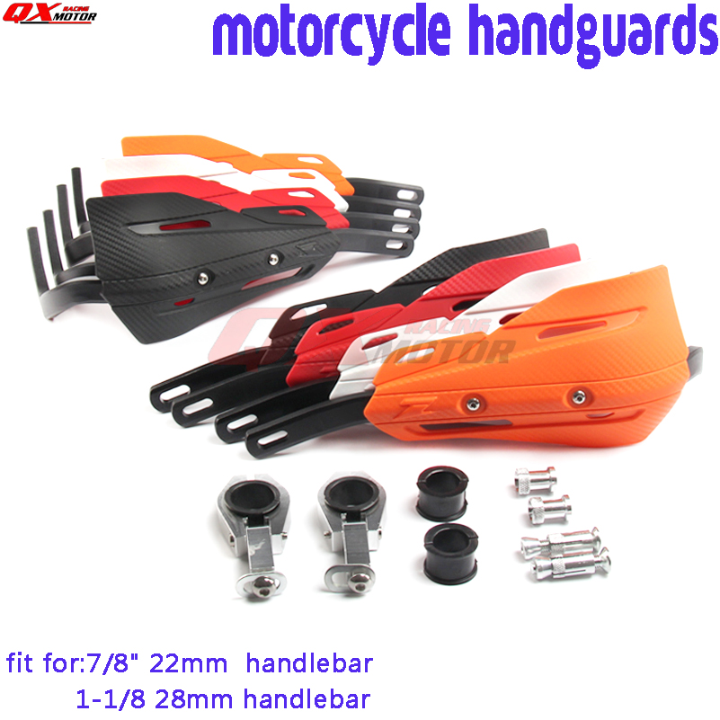 Motorcycle Handlebar 7//8 22MM Handle Tubes With Dirt Bike Grips Handlebar Pad Cross Bar For Honda CR CRF 50 80 125 250 250 Pit Bike Motocross Quad Off Road ATV Universal Red