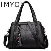 Top Handle Bags Women Tassel Tote Luxury Spiraea Women Shoulder Messenger Bags Designer High Quality Leather Handbag Cute Cat
