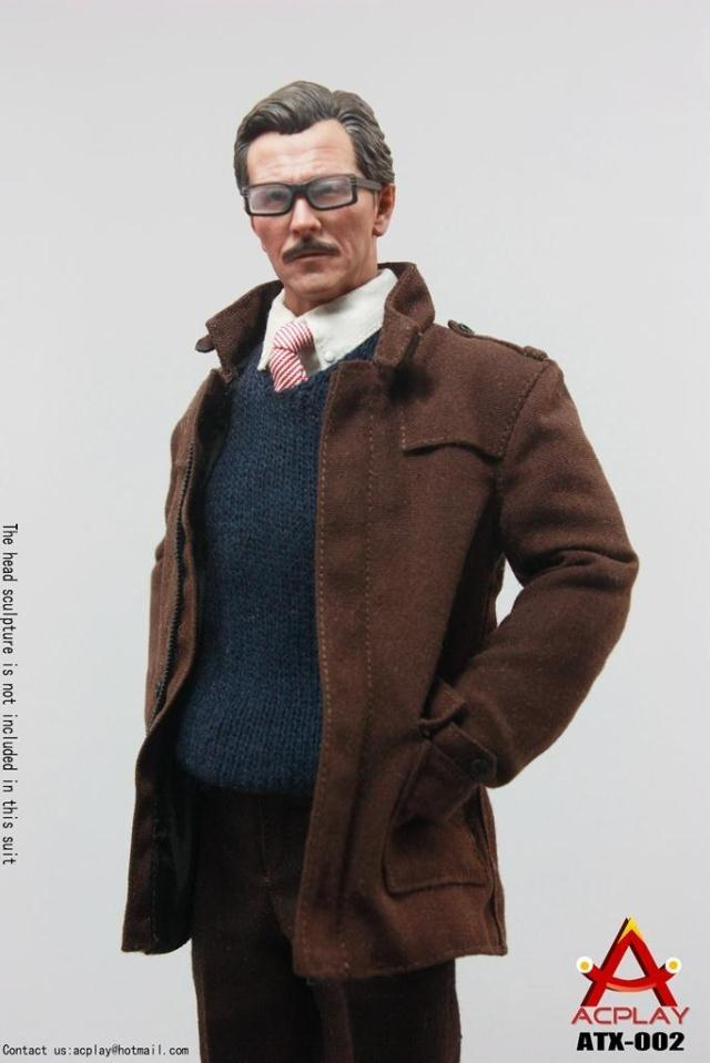 ACPLAY1/6 scale doll Model.12 Action figure doll Gotham City Police Commissioner Gordon,Collection Model Toys.No packaging hot figures doll accessories pirp toys 1 6 batman police commissioner gordon inspector dresscode clothes set for 12 figure body